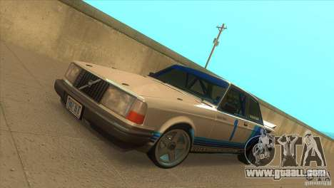 Volvo 240 Turbo Group A for GTA San Andreas
