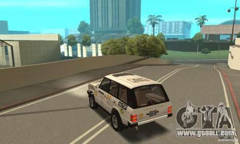 Range Rover County Classic 1990 for GTA San Andreas