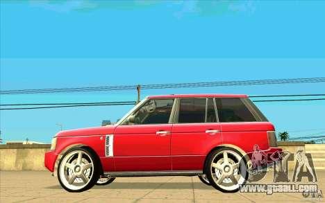 NFS:MW Wheel Pack for GTA San Andreas eleventh screenshot