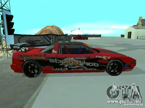 Infernus Drift Edition for GTA San Andreas left view