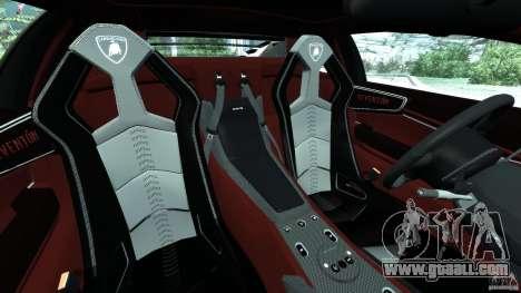 Lamborghini Reventon 2008 v1.0 [EPM] for GTA 4 inner view