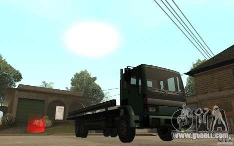 DFT30 Dumper Truck for GTA San Andreas back view