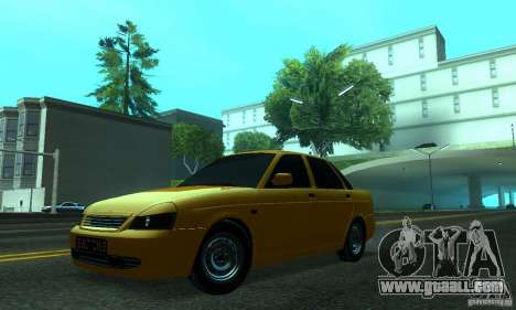 Lada Priora for GTA San Andreas side view
