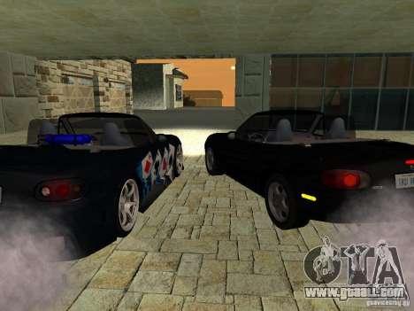 Mazda MX5 Miata for GTA San Andreas back left view