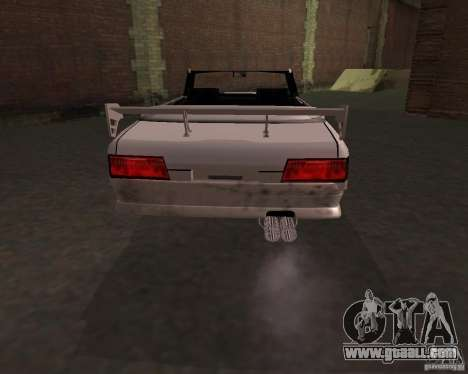 Taxi Cabrio for GTA San Andreas back left view