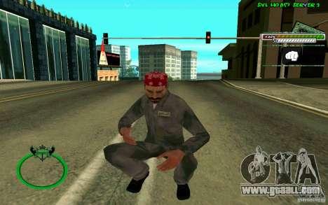 Mechanik HD Skin for GTA San Andreas fifth screenshot