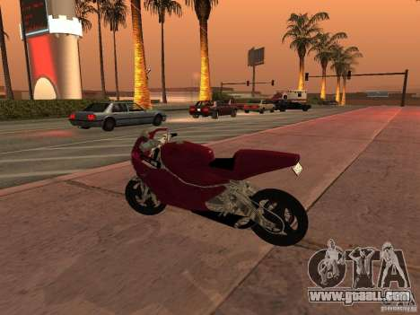 Turbine Superbike for GTA San Andreas left view