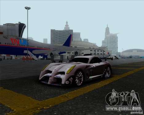 Panoz Abruzzi Le Mans V1.0 2011 for GTA San Andreas