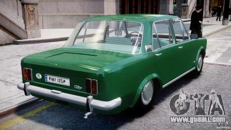 Fiat 125p Polski 1970 for GTA 4 bottom view