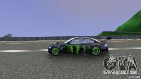 BMW M3 Monster Energy for GTA 4 left view