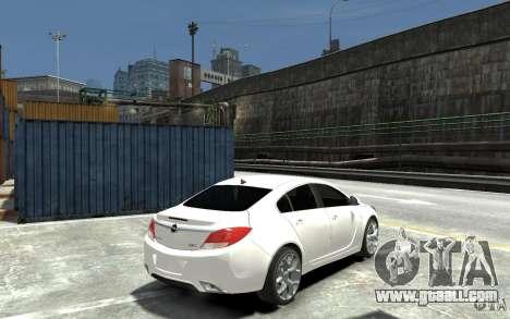 Opel Insignia OPC BETA for GTA 4 right view