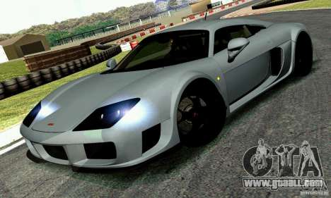 Noble M600 2010 V1.0 for GTA San Andreas back left view