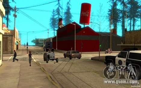 Coca Cola Factory for GTA San Andreas