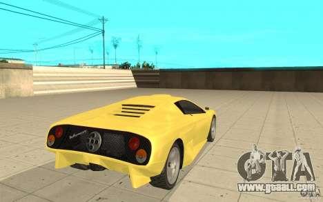 Infernus from GTA 4 for GTA San Andreas