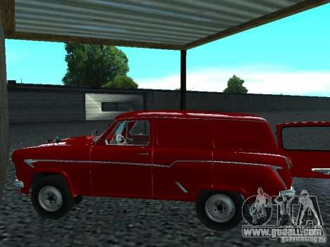 Moskvich 430 for GTA San Andreas back left view