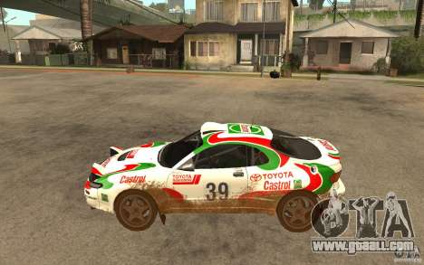 Toyota Celica GT-Four for GTA San Andreas left view