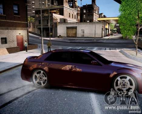 Chrysler 300 SRT8 DUB 2012 for GTA 4 inner view