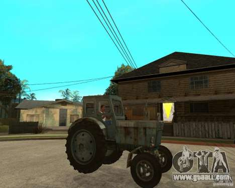 Tractor Т-40М for GTA San Andreas right view