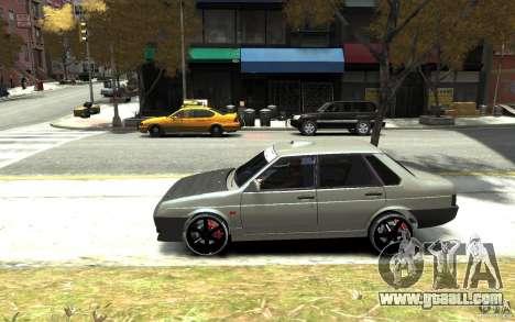 VAZ 21099 for GTA 4 left view