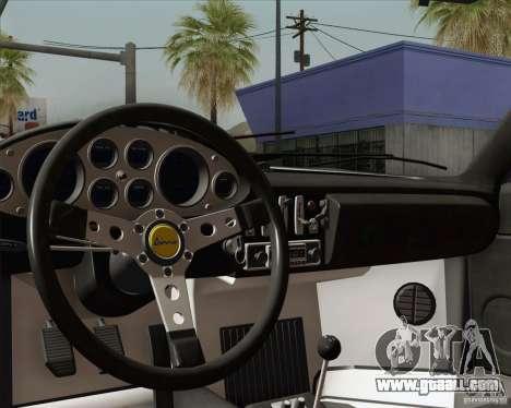 Ferrari 246 Dino GTS for GTA San Andreas interior