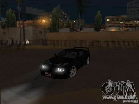 Toyota Supra MKIV for GTA San Andreas