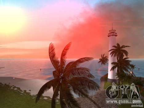 Vice City Real palms v1.1 Corrected for GTA Vice City