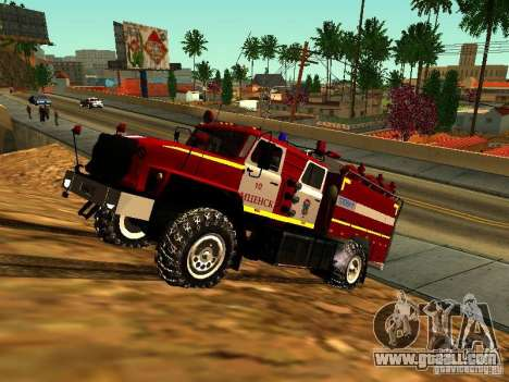 Ural 5557-40 fire for GTA San Andreas