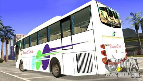 Hino New Travego RK1 for GTA San Andreas left view