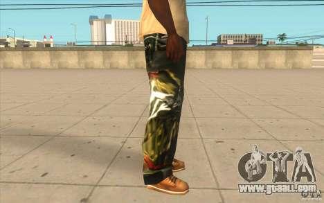 Hip-hop jeans for GTA San Andreas forth screenshot