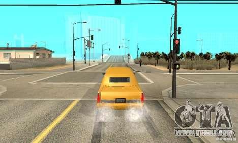VIP TAXI for GTA San Andreas fifth screenshot