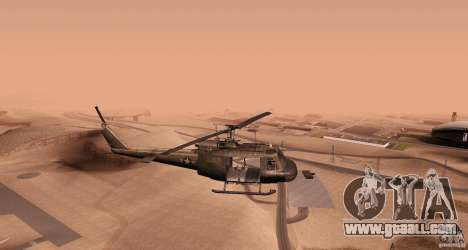 UH-1H for GTA San Andreas left view