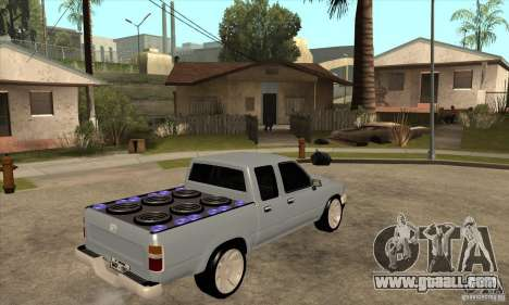 Toyota Hilux Surf v2.0 for GTA San Andreas right view