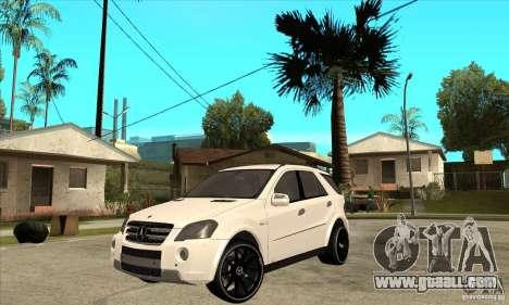 Mercedes-Benz ML 63 for GTA San Andreas