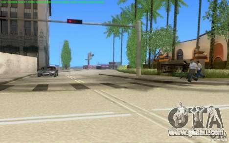 Concrete roads of Los Santos Beta for GTA San Andreas ninth screenshot