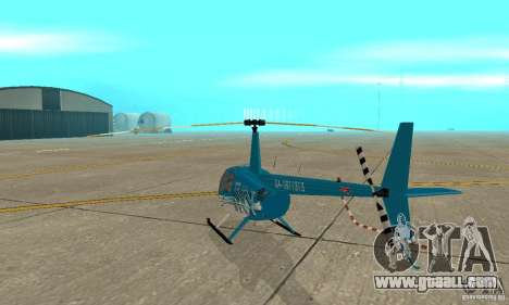 Robinson R44 Raven II NC 1.0 TV for GTA San Andreas right view