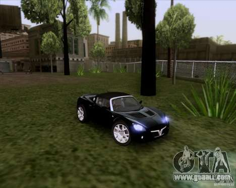 Vauxhall VX220 Turbo for GTA San Andreas