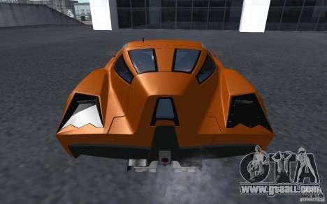 Spada Codatronca TS Concept 2008 for GTA San Andreas left view