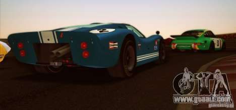 Ford GT40 MK IV 1967 for GTA San Andreas right view