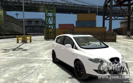 Seat Toledo for GTA 4 back view