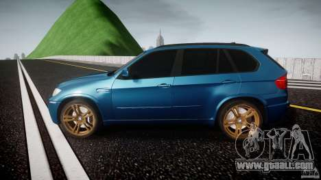 BMW X5 M-Power wheels V-spoke for GTA 4 left view