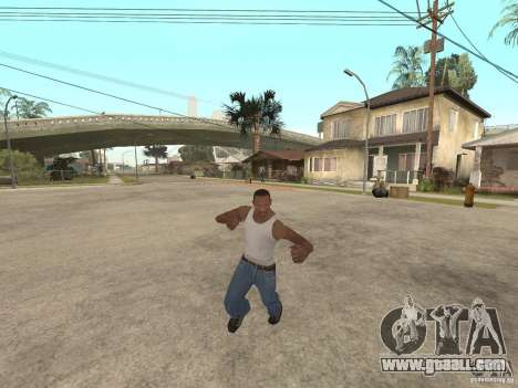 Awesome .IFP V3 for GTA San Andreas eighth screenshot