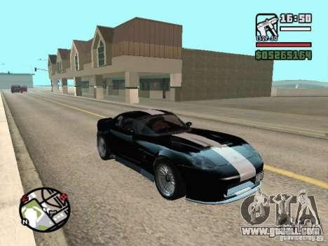 Banshee from GTA IV for GTA San Andreas