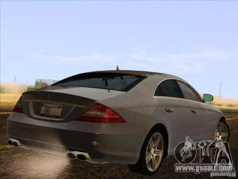 Mercedes-Benz CLS63 AMG for GTA San Andreas right view