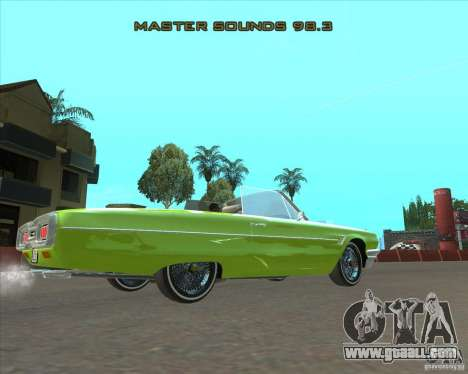 Ford Thunderbird 1964 for GTA San Andreas left view
