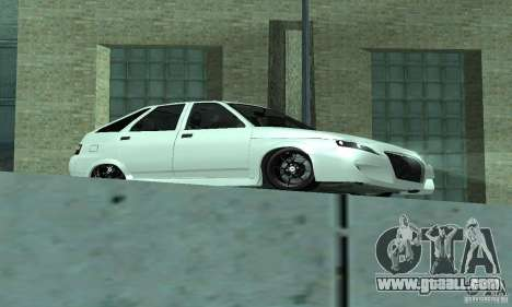 VAZ-2112 car Tuning for GTA San Andreas left view
