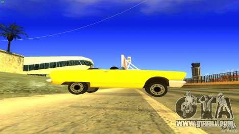 Crazy Taxi - B.D.Joe for GTA San Andreas left view