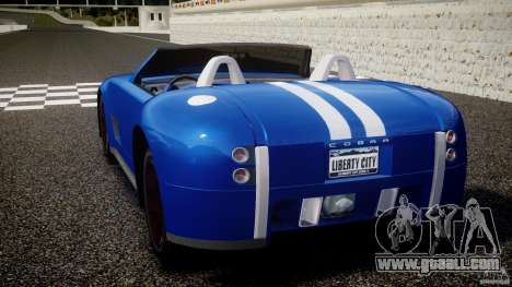 Ford Shelby Cobra Concept for GTA 4 back left view