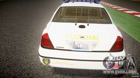 Ford Crown Victoria US Marshal for GTA 4 engine
