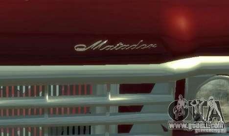 AMC Matador for GTA 4 upper view