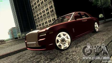 Rolls-Royce Ghost 2010 V1.0 for GTA San Andreas